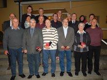 Jubilare 40 Jahre Mitgliedschaft