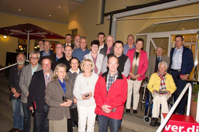 Jubilarehrung 2016 Osthessen