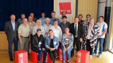 Gruppenbild des neuen Vorstands.